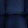 Kép 15/24 - FONDAR Dizájnos fotel,  kék/fekete