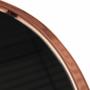 Kép 3/12 - VALERO Sarok/Kisasztal,  rose gold króm rózsaszín/fekete