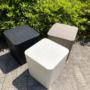 Kép 2/21 - IBLIS Kerti tároló doboz/kisasztal,  fehér