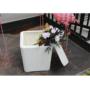 Kép 10/21 - IBLIS Kerti tároló doboz/kisasztal,  fehér