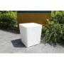 Kép 14/21 - IBLIS Kerti tároló doboz/kisasztal,  fehér