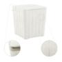 Kép 5/21 - IBLIS Kerti tároló doboz/kisasztal,  fehér