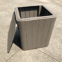 Kép 6/16 - IBLIS Kerti tároló doboz/kisasztal,  szürke