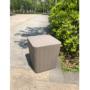 Kép 9/16 - IBLIS Kerti tároló doboz/kisasztal,  szürke