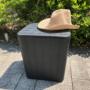 Kép 4/20 - IBLIS Kerti tároló doboz/kisasztal,  fekete