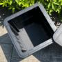 Kép 8/20 - IBLIS Kerti tároló doboz/kisasztal,  fekete