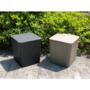 Kép 10/20 - IBLIS Kerti tároló doboz/kisasztal,  fekete
