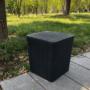 Kép 12/20 - IBLIS Kerti tároló doboz/kisasztal,  fekete