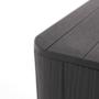 Kép 9/20 - IBLIS Kerti tároló doboz/kisasztal,  fekete