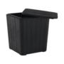 Kép 13/20 - IBLIS Kerti tároló doboz/kisasztal,  fekete