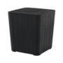 Kép 18/20 - IBLIS Kerti tároló doboz/kisasztal,  fekete