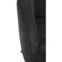 Kép 14/17 - LACEY Design karosszék - szálcsiszolt bőrszövet,  szürke / fekete