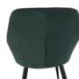 Kép 14/18 - LACEY Design fotel,  zöld/fekete