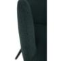 Kép 18/18 - LACEY Design fotel,  zöld/fekete