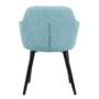Kép 3/16 - LACEY Design fotel,  mentolos/fekete