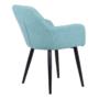 Kép 4/16 - LACEY Design fotel,  mentolos/fekete