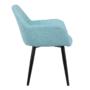Kép 5/16 - LACEY Design fotel,  mentolos/fekete
