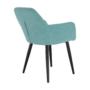 Kép 13/16 - LACEY Design fotel,  mentolos/fekete