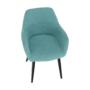 Kép 15/16 - LACEY Design fotel,  mentolos/fekete