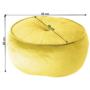 Kép 11/13 - KEREM Puff,  anyag sárga