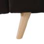 Kép 14/19 - FILEMA Széthúzhatós kanapé,  barna/tölgy