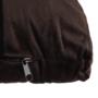 Kép 18/19 - FILEMA Széthúzhatós kanapé,  barna/tölgy