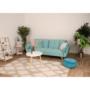 Kép 4/24 - FILEMA Széthúzhatós kanapé,   neo mint/tölgy