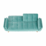 Kép 8/24 - FILEMA Széthúzhatós kanapé,   neo mint/tölgy