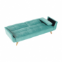 Kép 10/24 - FILEMA Széthúzhatós kanapé,   neo mint/tölgy