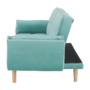 Kép 12/24 - FILEMA Széthúzhatós kanapé,   neo mint/tölgy