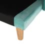 Kép 16/24 - FILEMA Széthúzhatós kanapé,   neo mint/tölgy