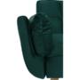 Kép 3/21 - KAPRERA Kinyitható kanapé,  smaragd bársony/bükk [NEW]