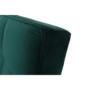 Kép 4/21 - KAPRERA Kinyitható kanapé,  smaragd bársony/bükk [NEW]