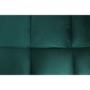 Kép 7/21 - KAPRERA Kinyitható kanapé,  smaragd bársony/bükk [NEW]