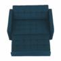 Kép 4/20 - FRENKA Kinyitható kanapé,  türkiz [BIG BED NEW]