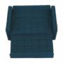 Kép 5/20 - FRENKA Kinyitható kanapé,  türkiz [BIG BED NEW]