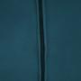 Kép 6/9 - MARLOV Dizájn fotel,  petróleum Velvet szövet/króm