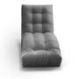 Kép 3/4 - MALIMO Relax fotel,  szürke szövet