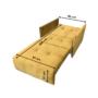Kép 3/5 - ALANA Kinyitható fotel,  mustár színű szövet Riviera