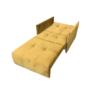 Kép 4/5 - ALANA Kinyitható fotel,  mustár színű szövet Riviera