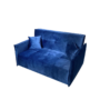 Kép 4/5 - ALANA Kinyitható 3-as ülés,  párizsi kék szövet Riviera
