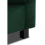 Kép 5/6 - LUANA Fotel smaragd szövet,  Fotel smaragd szövet